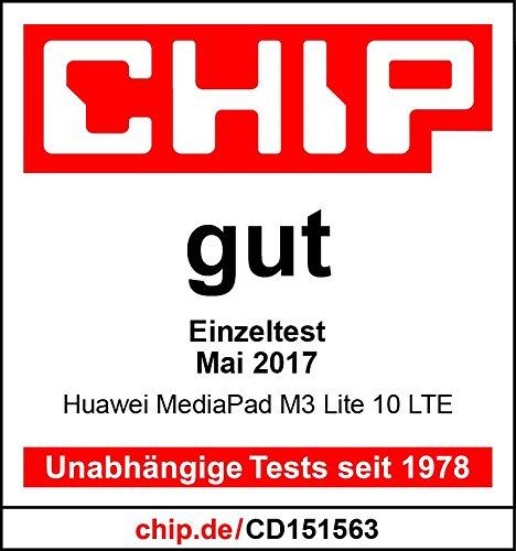 HUAWEI MediaPad M3 lite WiFi 25,6 cm (10,1 Zoll) Tablet-PC (Fingerabdrucksensor, QualcommTM MSM8940 Octa-Core Prozessor, 3 GB RAM, 32 GB interner Speicher, Android 7.0, EMUI 5.1) grau - 6