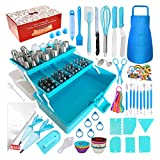 Cake Decorating Tools 368-Piece Piping Bags and Tips Set, Baking...
