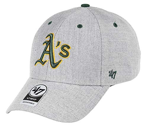 47 Brand Adjustable Cap - Cloud Oakland Athletics grau