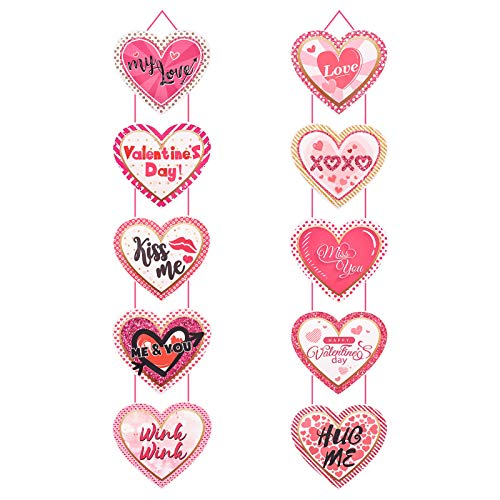 Smilcloud, striscione per San Valentino, decorazione per San Valentino, cuore e cuore