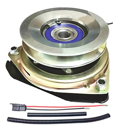 Xtreme Outdoor Power Equipment Bundle - 2 Items: PTO Electric Blade Clutch, Wire Harness Repair Kit. X0519 Replaces Sears Craftsman 180505 PTO Clutch. Upgraded! w/Wire Harness Repair Kit