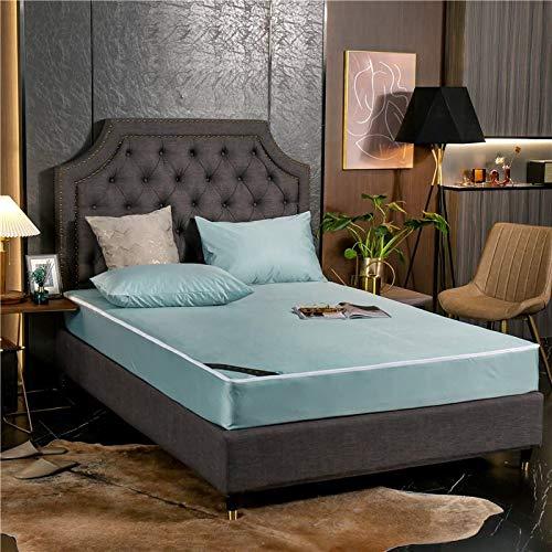 BOLO Las sábanas planas BOLOMicrofiber te hacen sentir cómoda: esta sábana de cama hipoalergénica es muy suave y sedosa, 2 piezas