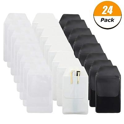 DragonflyDreams 24 Pack Pen Pocket Protectors f...