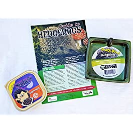 Hedgehog care set(bowl/food and info guide)