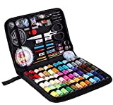 Sewing Kit,183 Premium Sewing Supplies,38 XL Thread Spools,Suitable for Adults, Kids, College Students,Traveler,Beginners,Emergency,DIY and Home-Basic & Professional Sewing Needles and Thread by TBBSC