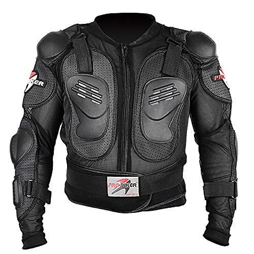 REDSHORE Motocicleta cuerpo completo armadura chaqueta protectora ATV guardia...