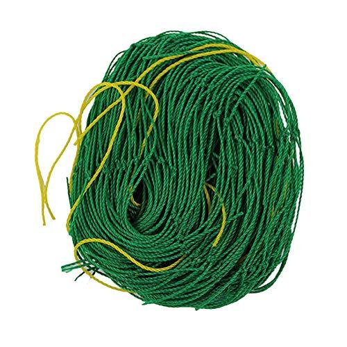 DUTUI 5PCS,Pflanzenkletternetz, Hausgartennetz, 1,8 Mx 3,6 M, Klettergerüst Für Gemüse Und Obst, Schweres Pflanzenstützgitternetz