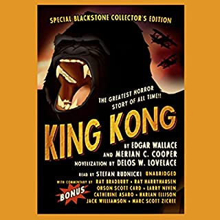 King Kong audiobook cover art
