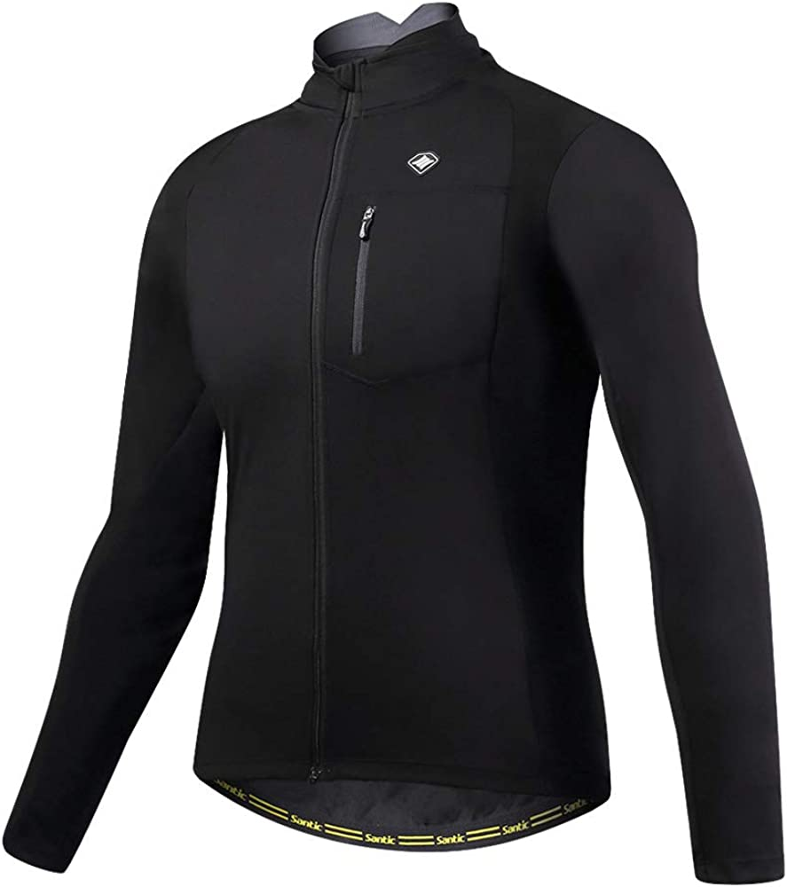 Santic Bike Winter Jacket Windproof UP Cycli Fleece Warm Ranking integrated 1st place Super Special SALE held Thermal