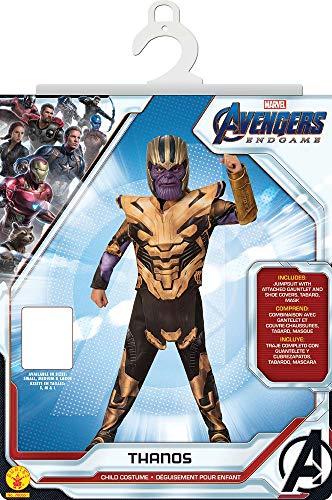 Marvel Ni/ños Avengers Endgame Painted Thanos Camiseta