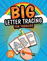 Big Letter Tracing for Toddlers