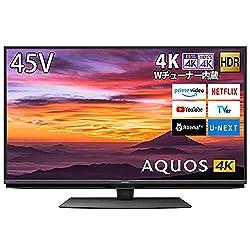シャープ 4K チューナー内蔵 液晶 テレビの商品画像