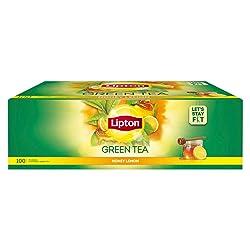 Lipton Honey Lemon Green Tea Bags, 100 Pc