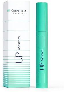 ORPHICA UP Mascara voor mooie, lange, natuurlijke wimpers, veegvaste, klontervrije formule, met borsteltje, zwart, 7,5 ml