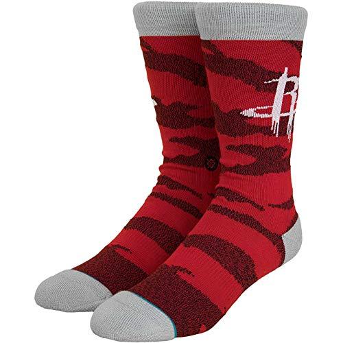 Stance NBA Arena Camouflage Melange Socken (L, Houston Rockets)