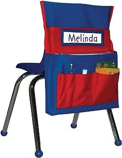 Carson-Dellosa CD-158035 Chairback Buddy Pocket Chart, Blue/Red