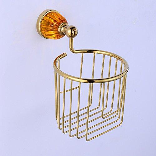 XBR jin jinxin alliage d'or et sanitaires ou alliage de zinc, appareils sanitaires, papier papier roulé le panier, salle de bain appareils cintre
