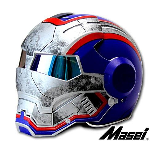 LC Prime® Masei 610 Atomic Man Motorrad Modular Open Face HJC Icon DOT Helm Masei 610 Atomic Man Motorcycle Modular Open Face HJC Icon DOT Helmet