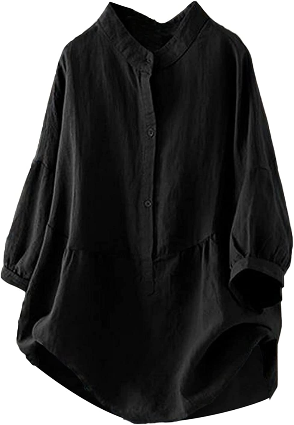 Batwing Shirts trend rank Weekly update for Women Casual Button Sol Shirt Down T Pullover