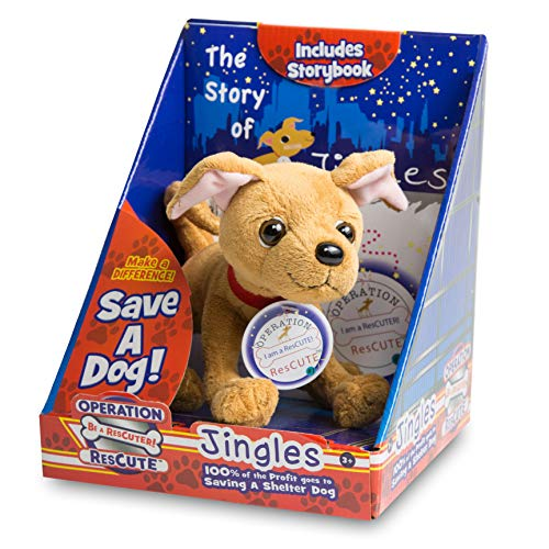 Operation ResCute: The Story of Jingles Book & Stuffed Animal (100% of Profits Go to Charity)