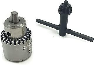 LOCHI STORE Mini Watchmaker Drill Chuck 0.3-4mm Lathe Diy Jewllery Making Tool Jt0 Watchmakers Small Drill Chuck 0.3mm-4mm Taper Mount Jt0 New product