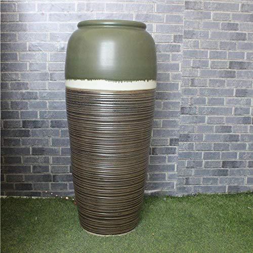 WULIAN Keramikvase Klassische Bodenvase.Color Glaze Kiln.Vase.Moderne Chinesische Wohnzimmer im antiken französischen Stil.Hotel Villa Decoration.Large