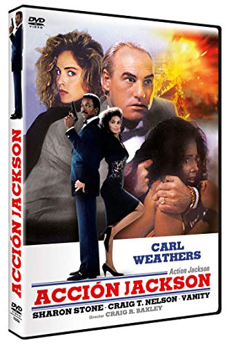 Acción Jackson DVD 1988 Action Jackson