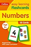 Numbers Flashcards: 52 Cards (Collins Easy Learning Preschool)