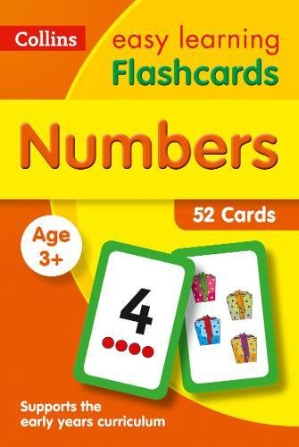 Numbers Flashcards: Prepare for Preschool with easy home learning (Collins Easy Learning Preschool)