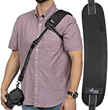 Altura Photo Rapid Fire Professional Quick Release Camera Strap for Nikon Sony Fujifilm Canon DSLR and Mirrorless Cameras