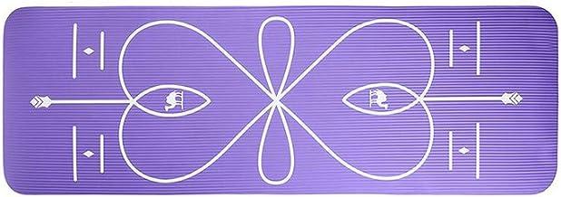 Yoga Matten Beginner 10 MM NBR Non-slip Body Line Fitness Matten Mannelijke En Vrouwelijke Yoga Deken