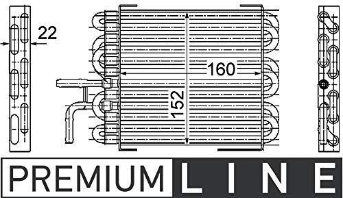 MAHLE CK 10 000P Kraftstoffkühler BEHR PREMIUM LINE