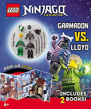 Ninja Mission  Garmadon vs Lloyd  An Action-Packed LEGO® Adventure Book for Kids  Creative Interactive Stories and 3D Playset with LEGO® Minifigures Unique Gifts   Lego Ninjago Legacy