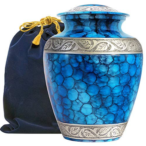 Forever Remembered Classic Blue Urn