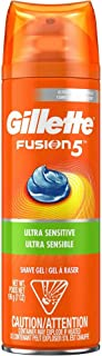 Gillette Fusion Ultra Sensitive Shave Gel - 7 oz - 2 pk