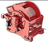YAOSHI Molinete eléctrico para Coches 1 2 3 5 10 12 15 20 30 35 40 45 50 toneladas de Pesca de Pesca Industrial de Anclaje hidráulico para elevar la Excavadora de la grúa de elevación. Cabrestante