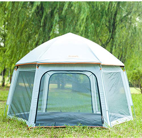 HJTL 6 Person Camping Tent Backpacking Tents Dome Automatic Pop-Up Outdoor Sports Tent Camping Sun Shelters