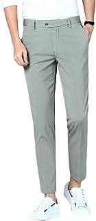 MogogoMen Business Straight Easy Care Regular Fit Plain-Front Dress Pant
