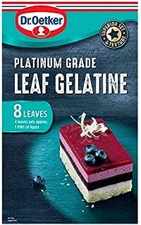 dr oetker leaf gelatine
