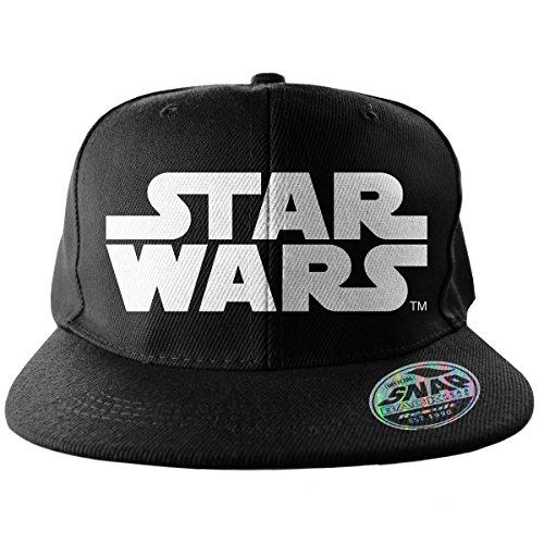 Star Wars Officiellement Marchandises sous Licence Logo Taille Ajustable Snapback Casquette (Noir)