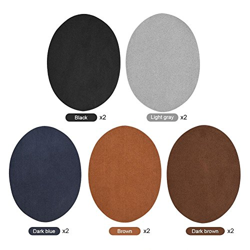 10pcs Repair Patches, 5 Colors Oval…