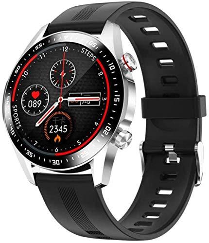 Moda E12 reloj inteligente Bluetooth teléfono smartwatch hombre impermeable movimiento medida ritmo cardíaco sueño presión arterial relojes mujeres clásico
