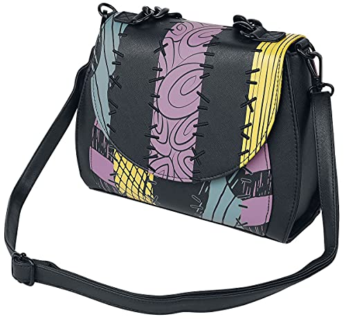 Loungefly x Nightmare Before Christmas Sally Cosplay Crossbody Bag (One Size, Multicolored)
