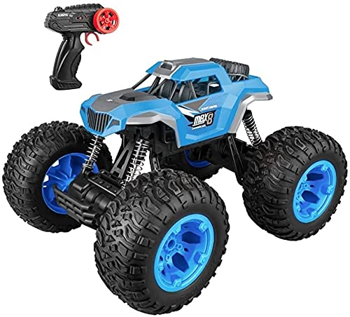 Moerc 1:10 Control Remoto Coche 4WD Racing rápido Roca Escalada Fuera de la Carretera Coche 2.4GHz Racing Racing RC Regalos de Coche para niños Adultos (tamaño : 1 Battery Pack)