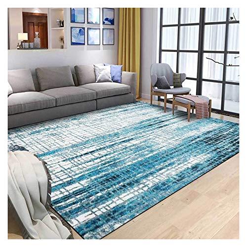 GJCC Blue Area Rugs for Living Room Soft Carpet for Bedroom Modern Indoor Outdoor Non-Slip Rug Home Decoration Floor Mat,Blue,5