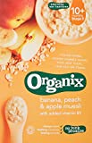Organix - Stage 3 From 10 Months - Organic Infant Cereals - Banana, Peach & Apple Muesli - 200g