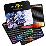Magicfly 72 Colouring Pencil Set, Colored Pencils in Storage Box Ideal for Drawings and Sketches for Expert, Professional, Beginners, and also for Kids, Adult
