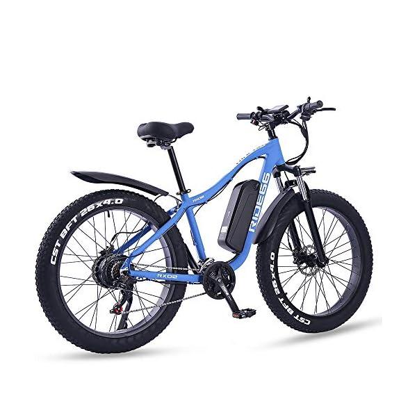 51 poNngV3L. SS600  - ride66 e Bike Mountainbike ebike Herren Damen 26 Zoll 1000W 48V 16Ah Fatbike