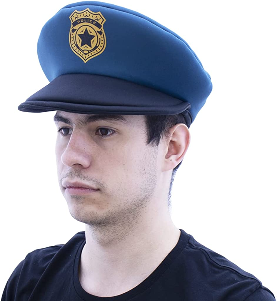 FX COSTUMES CLASSIC Max 55% OFF Max 41% OFF BLUE POLICE HAT PARTY ADULT COSTUME
