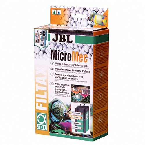 JBL Micromec, Billes de filtration en verre fritté pour la dégradation biologique des polluants Pour filtre d'aquarium